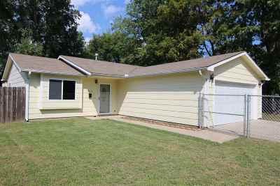 Wichita KS Single Family Home For Sale: $82,500