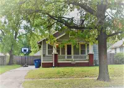 Wichita KS Single Family Home For Sale: $92,900