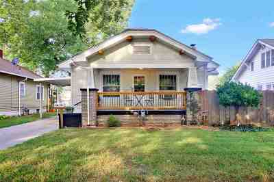 Wichita Single Family Home For Sale: 1127 N Perry Ave