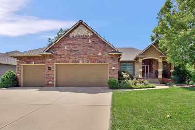 Wichita Single Family Home For Sale: 12809 W Alderny