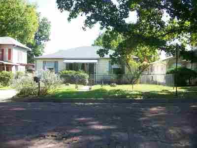 Arkansas City KS Single Family Home For Sale: $65,000