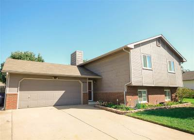 Wichita Single Family Home Contingent: 10910 W Haskell Cir