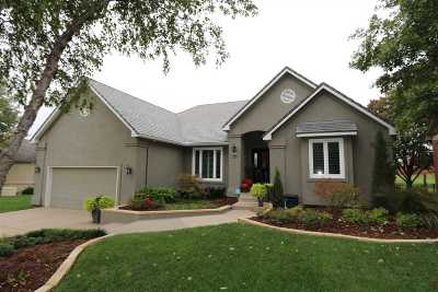 Wichita Single Family Home Contingent: 4229 N Ironwood Ct