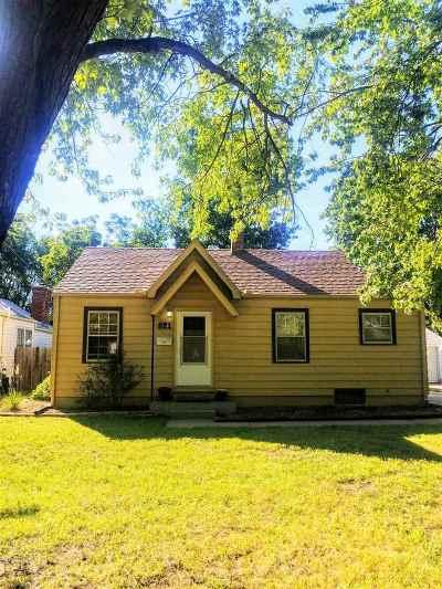 Wichita Single Family Home For Sale: 821 S Rutan Ave