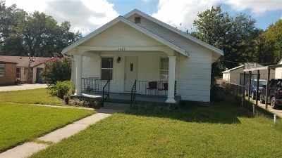 Arkansas City KS Single Family Home For Sale: $55,000