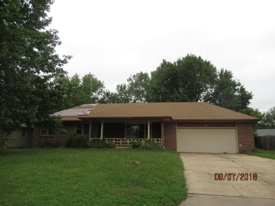 Goddard KS Single Family Home For Sale: $119,900