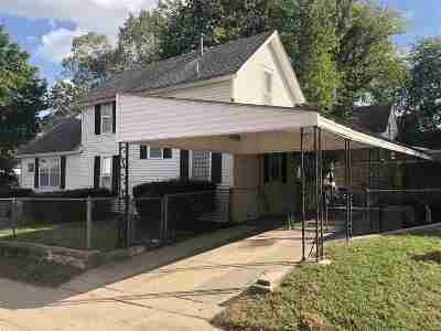 Arkansas City KS Single Family Home For Sale: $44,900