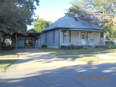 Winfield KS Single Family Home For Sale: $20,000