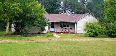 Augusta Single Family Home For Sale: 6587 SW Ohio St Road