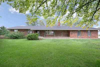 Colwich Single Family Home For Sale: 4712 N 151st St W