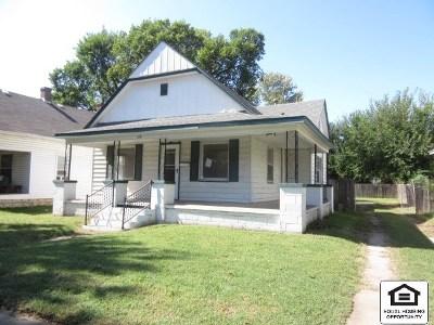 Wichita KS Single Family Home For Sale: $41,000