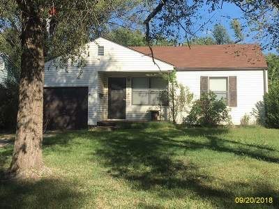 Wichita KS Single Family Home For Sale: $39,900
