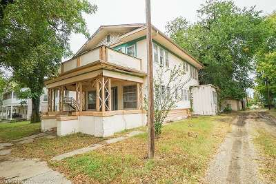 Arkansas City Single Family Home For Sale: 314 W Chestnut Ave