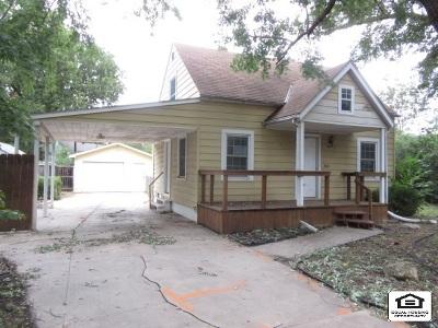 Wichita KS Single Family Home For Sale: $29,000