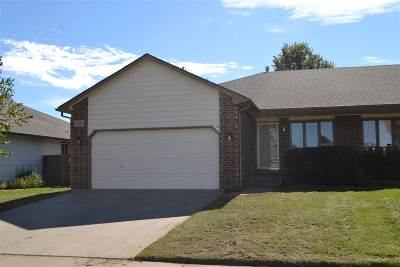 Wichita KS Single Family Home For Sale: $136,900