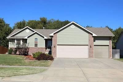 Derby KS Single Family Home For Sale: $204,900