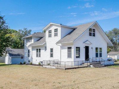 Newton Single Family Home For Sale: 521 S Kansas Ave