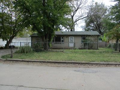 Wichita KS Single Family Home For Sale: $44,500