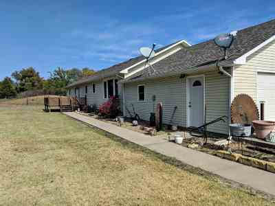 Hutchinson Single Family Home For Sale: 5304 S Yoder Rd