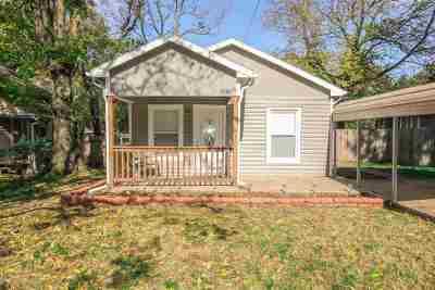 Mulvane Single Family Home For Sale: 134 W Cedar St