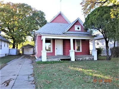 Wichita KS Single Family Home For Sale: $34,900