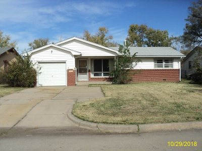 Wichita KS Single Family Home For Sale: $67,500