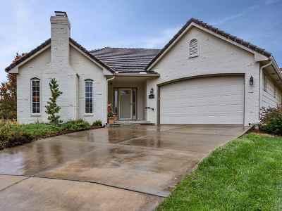 Wichita Single Family Home For Sale: 12821 E Crest Ridge Circle