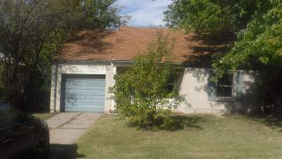 Sedgwick County, Butler County, Reno County, Sumner County Single Family Home For Sale: 5222 E Pine St