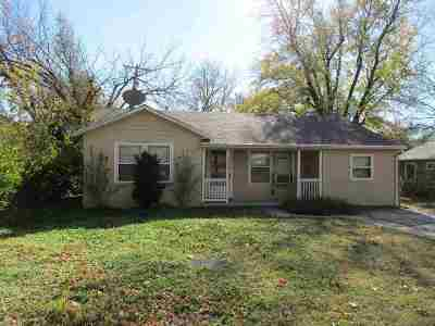 El Dorado KS Single Family Home For Sale: $64,900