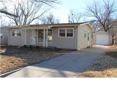 Wichita KS Single Family Home For Rent: $750