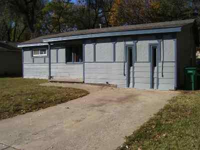 Haysville KS Single Family Home For Sale: $89,900