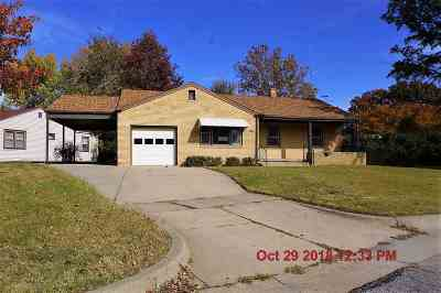 Sedgwick County, Butler County, Reno County, Sumner County Single Family Home For Sale: 6004 E Gilbert