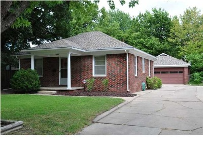 Wichita KS Single Family Home For Rent: $675