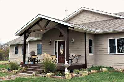 Benton Single Family Home For Sale: 14889 NW 20th St