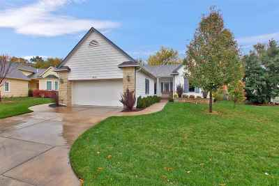 Wichita Single Family Home For Sale: 9638 E Clubhouse Ct