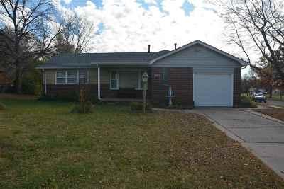 Wichita KS Single Family Home For Sale: $105,000