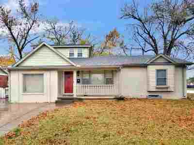 Wichita KS Single Family Home For Sale: $135,000
