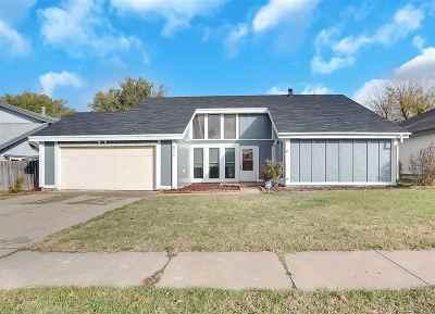 Wichita Single Family Home For Sale: 8216 E Chalet