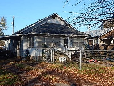 Arkansas City KS Single Family Home For Sale: $37,500