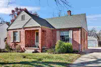 Wichita Single Family Home For Sale: 1451 N Woodland St