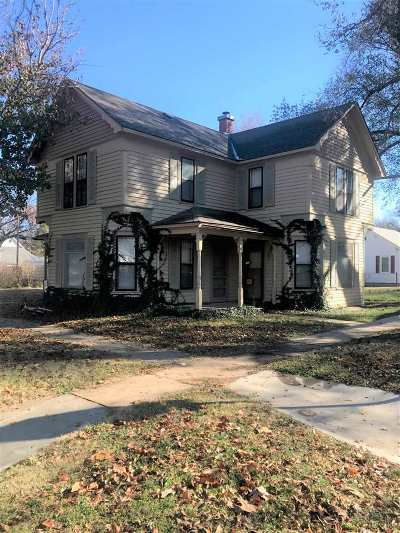 Reno County Single Family Home For Sale: 122 N Sedgwick St