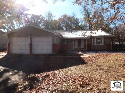 Sedgwick County Single Family Home For Sale: 6807 E Bayley St