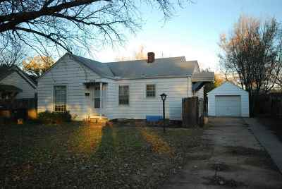 Wichita KS Single Family Home For Sale: $72,500