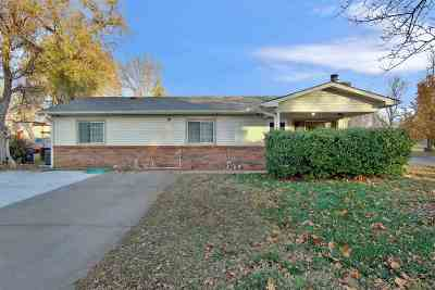 Wichita Single Family Home For Sale: 746 N Custer St