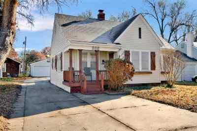 Wichita Single Family Home For Sale: 808 S Volutsia St