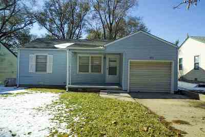 El Dorado KS Single Family Home For Sale: $0