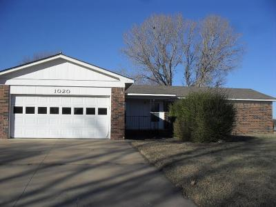 Arkansas City KS Single Family Home For Sale: $88,000