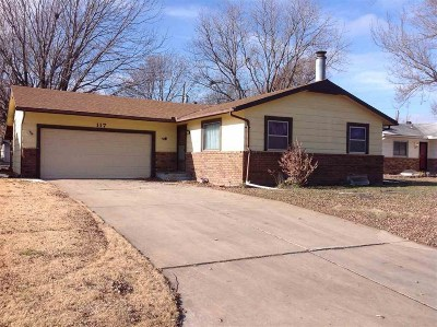 Valley Center Single Family Home For Sale: 117 N Emporia Ave
