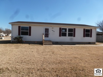 Wichita KS Single Family Home For Sale: $48,000