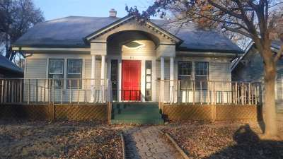 El Dorado KS Single Family Home For Sale: $39,000